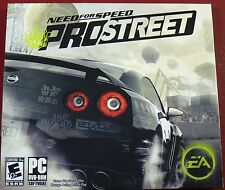 Video Game PC Need for Speed ProStreet Pro Street EA NEW SEALED Jewel