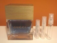 Gucci Pour Homme II by Gucci  5 ml 0.17 oz SAMPLE Glass Atomizer Men EDT