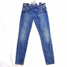NEW CURRENT ELLIOTT THE STILETTO GUTHREY SKINNY ANKLE JEANS 25