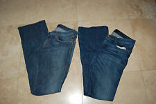 Pair of Blue Denim ROCK & REPUBLIC Stretch Jeans Roth & Flirt 29
