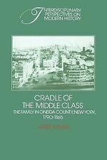 Cradle of the Middle Class: The Family in Oneida County, New York, 1790-1865 In