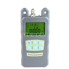FTTH Fiber Optic Optical Power Meter Cable Tester -70~+3 dBm FC/SC Connector