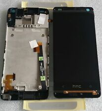 LCD Touchscreen Display Digitizer Komplett Glas Rahmen Weiss HTC ONE Mini 601n