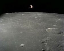 Apollo Lunar Module Over the Moon Space Vehicle NASA Amzing Photo Picture