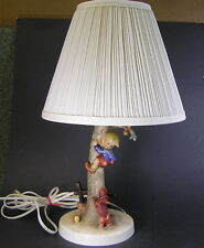"Hummel Lamp ""CULPRITS""  #44/A TMK-4, Excellent w/ Shade"