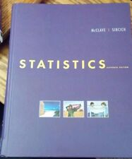 "Statistics by James T. McClave and Terry Sincich ""Eleventh edition"""