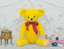 PDF Sewing Antique Yellow Teddy Bear E-Pattern/15 inch Artist KOZLOVA design