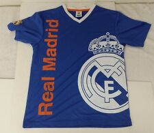 Real Madrid FC Kid's Jersey Color Blue Size YL NWOT Official Product By Rhinox