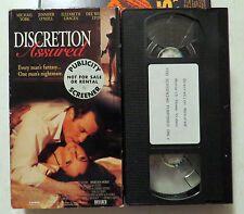 VHS: Discretion Assured: rare Monarch Home Video erotic erotica York O'Niel 1994