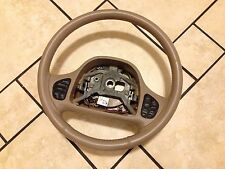 Leather wrapped Steering wheel Ford Explorer Eddie Bauer Edition Fits 95-03 OEM