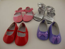 A Set of 4 Pair of Really Cute Shoes for the 18 Inch Doll Like the American Girl