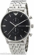 Emporio Armani Classic Chronograph Stainless Steel Men's Watch AR0389