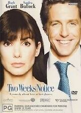 Two Weeks Notice (DVD, 2003)  -- Free postage --