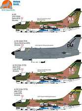 Wolfpak Decals 32-001 DESERT SLUFS Vought- A-7 Corsair II  BY FANTASY PRINTSHOP