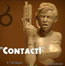 Contact | 1:10  Resin Bust | Unpainted 072