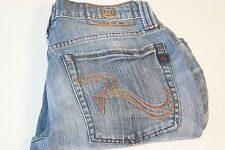Mens Jeans Rock & Republic Jagger size 30 x 32 blue  straight leg (F-4)