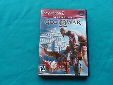God of War Greatest Hits PlayStation 2 PS2 Video Game 2005 (CIB) Sony SLUS97399