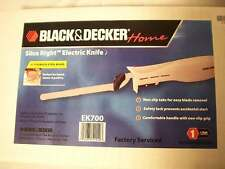 Black & Decker Electric Knife Great Present For Fishing Fisherman Poultry Meat