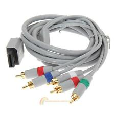 1080P Component Cable HDTV Audio Video AV Cable for Nintendo Wii 1.8m 6FT Gray