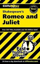 CLIFFSNOTES Shakespeare's ROMEO & JULIET Study Guide Literature Summary