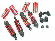 NEW BRUSHLESS E-REVO FRONT AND REAR HARD COATED SHOCKS SPRINGS MOUNTS 1/10 5460X