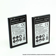 2 x 2500mAh Battery for Huawei A199 C8815 G606 G610 G700