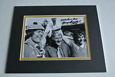 Tommy Docherty Signed Autograph 10x8 photo display Manchester United AFTAL & COA
