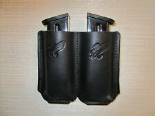 Double mag. holster, IWB & OWB AMBIDEXTROUS for all 45 caliber single stack mags