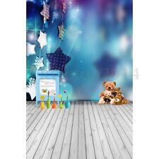 3x5FT Bear Star Photography Children Baby Backdrop Photo Background Studio Prop