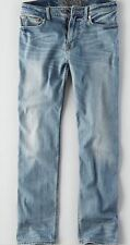 American Eagle Men's Relaxed Straight Extreme Flex Jeans - Light Wash 38x32 NWT