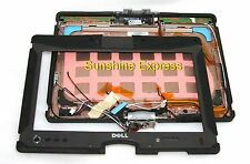 Dell Latitude XT2 XFR LCD Panel Back Cover V2YRK w/ Bezel/Hinges/Latch/Cables
