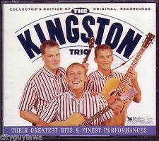 Reader's Digest KINGSTON TRIO Greatest Hits & Finest Performances Collector 3CD