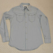 New G-Star Raw Arc 3d Shirt Correct Winter Grey Casual Long Sleeved Slim Size S