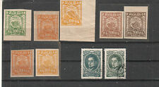 Russia 1920's etc lot of stamps color variations