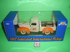 FEDERATED AUTO PARTS 1947 INTERNATIONAL PICKUP TRUCK REPLICA MODEL DIECAST C