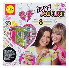 DIY BFF Jewelry Charms Pendants Name Plates Arts & Crafts by Alex 7+ 739J