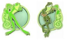 Disney Princess and the Frog Stained Glass Naveen and Tiana as frog Pin Only S4