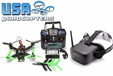 RTF FPV Racing Drone Falcon 210 Pro with VR-007 Goggles i6 Transmitter LiPo More