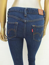 871 RED TAB EXTREME SKINNY HIGH WAIST JEANS BY LEVIS ZIPPER - SIZE 9