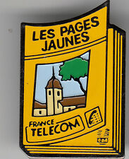 "PINS  FRANCE TELECOM ""LES PAGES JAUNES"""