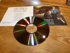 TONY BENNETT & BILL CHARLAP - THE SILVER LINING!!!! FRENCH PROMO CD !!!!!!!!!!!