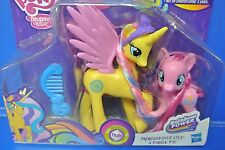 MY LITTLE PONY PRINCESS GOLD LILY & PINNKIE PIE BY HASBRO