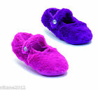 ladies lined slipper socks feather feelwith delmante one size lilac pink sk217