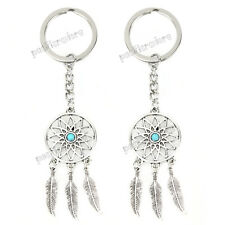 Feather Tassels Dreamcatcher Keychain Dream Catcher Pendant Keyring  Key Chain