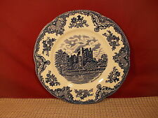 Johnson Brothers China England Old Britain Castles Blue Dinner Plate 10""