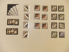 HEROQUEST lot complet de 21 tuiles (tile marker) - WARHAMMER GAMES WORKSHOP 01
