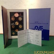 Coffret BE 2005 France 9 pièces 5 Euro + 2 Euro à 1 Centime Belle Epreuve