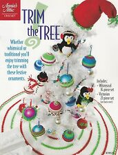 Trim the Tree, Annie's Crochet Christmas Ornaments Pattern Booklet 878529