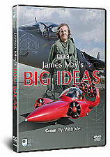 James May's Big Ideas - Come Fly With Me (DVD, 2011)free postage uk