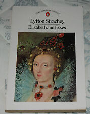 ELIZABETH AND ESSEX Lytton Strachey p/b Penguin 1985